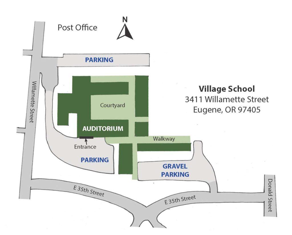 Village School parking