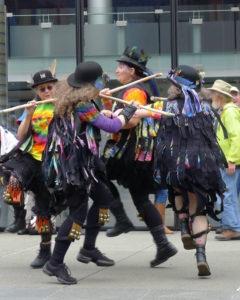 Morris Dancers @ First Christian Church